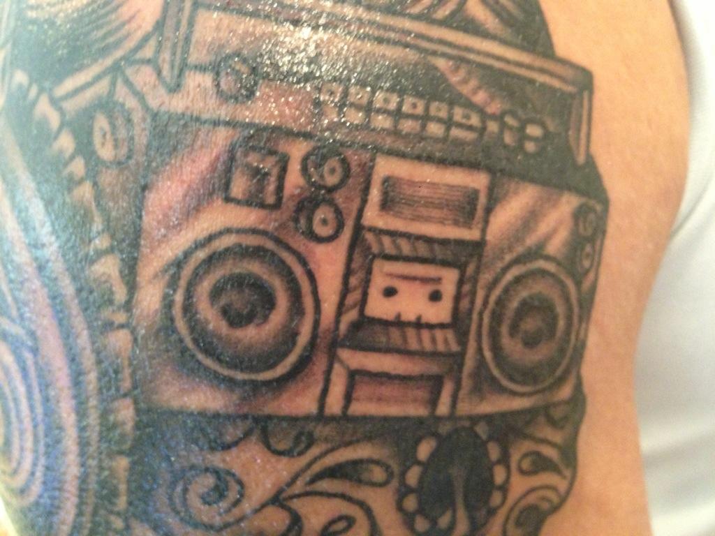 Hip Hop Tattoo Sleeve