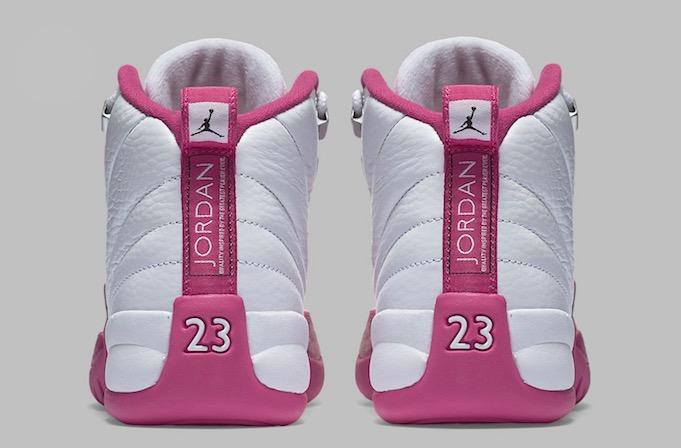 """Air Jordan 12 GS """"dynamic pink""""  ebc6658e857b"""